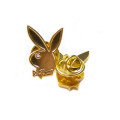 Good Worth&Co. x Playboy�ʥ��åɥ��&Co. x �ץ쥤�ܡ����� Rabbit Head Pin Gold