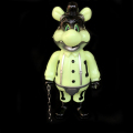 Frank Kozik x BlackBook Toy:A Clockwork Carrot Dim 11インチフィギュア Graveyard Edition