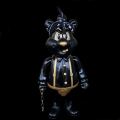 Frank Kozik x BlackBook Toy:A Clockwork Carrot Dim 11������ե����奢 Thug Life Edition