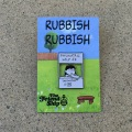 The Friendship Skateboards x Rubbish Rubbish:Lucy ピンズ