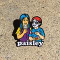 Sean Cliver x Rubbish Rubbish:Paisley 2 ピンズ