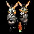 Frank Kozik x BlackBook Toy:A Clockwork Carrot Lil Alex 11インチフィギュア Poison Edition