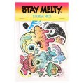 Buff Monster(バフモンスター) Stay Melty Jumbo Sticker Pack