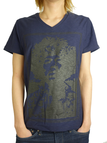 Rolland Berry 別注 HENDRIX TEE NAVY