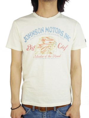 Johnson Motors Inc. S/S TEE BIG CHIFE DIRTY WHITE