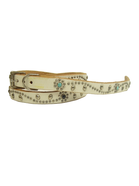 HTC STUDS BELT SN32-SP WHITE