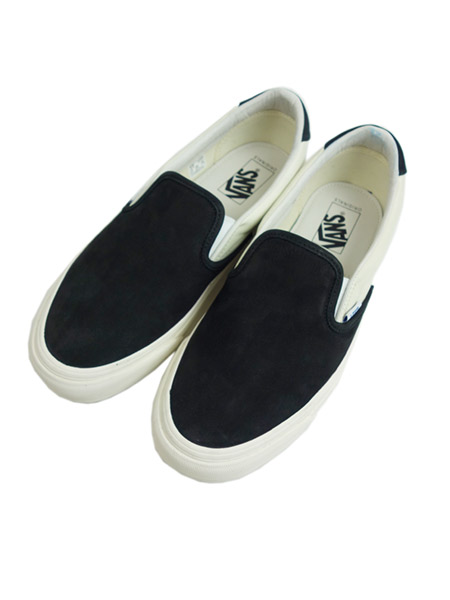 VANS VAULT Slip-On 59 LX leather BLK/WHT