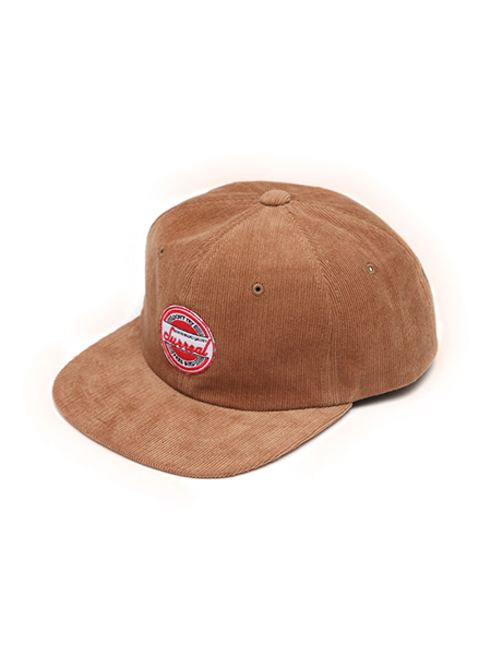 "SURREAL ""JHON"" 6panel Corduroy Cap BROWN"