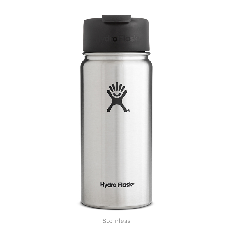 Hydro Flask COFFEE 16 oz Wide Mouth STAINLESS