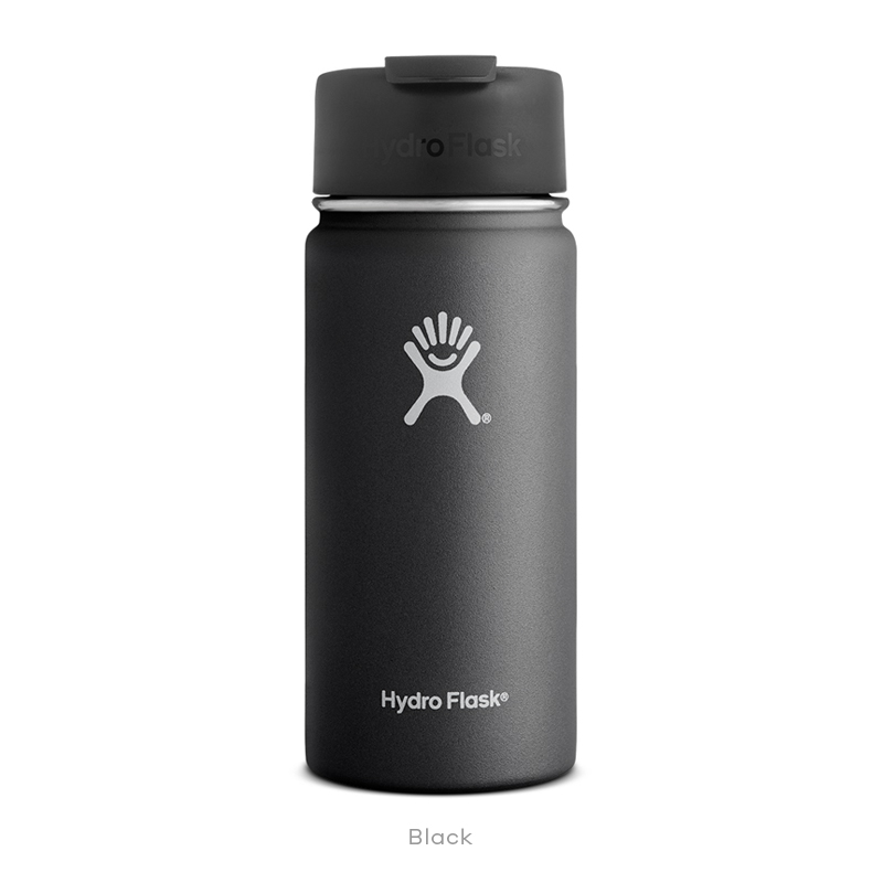 Hydro Flask COFFEE 16 oz Wide Mouth BLACK