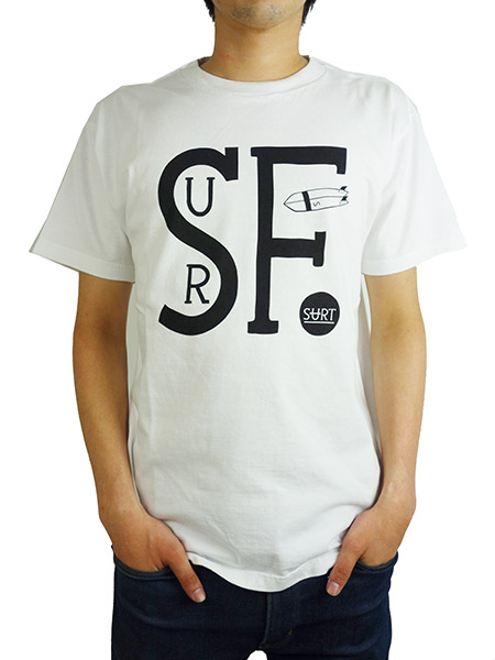 SURT SURF CLUB By SURT TEE WHITE