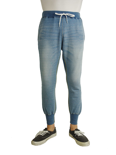 BLUEY INDIGO LOOPBACK PANTS SAX