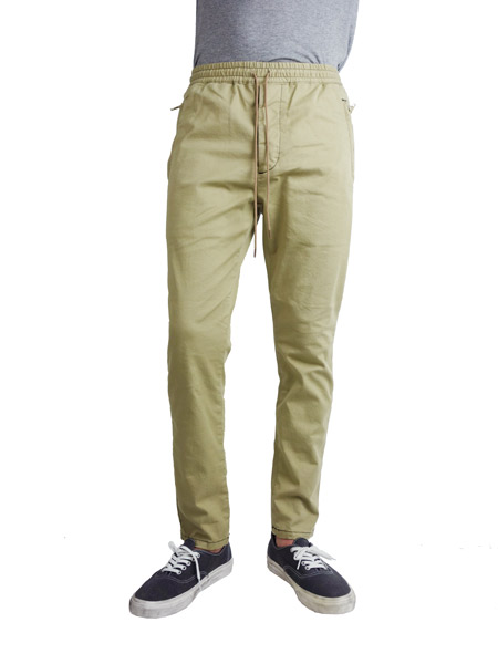 Williamsburg & Co Stretch chino easy pants beige