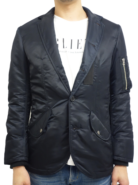 Birvin Uniform MA-1 Jacket BLACK