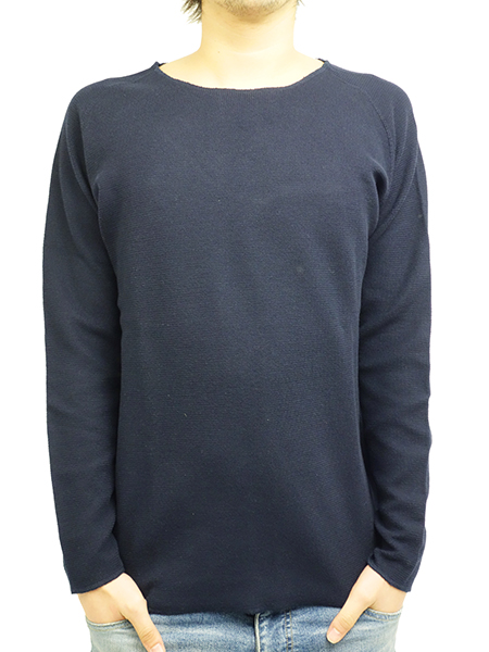 LIFE IS.... FREEDOM SLEEVE KNIT NAVY