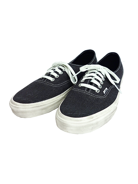 VANS CLASSICS AUTHENTIC (OVERWASHED)BLACK