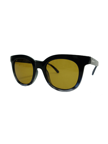 "CRAP EYEWEAR ""The Pop Control"" Gloss Black Gradient w Ash Tortoise"