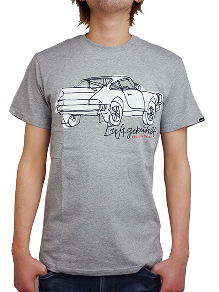 Deus ex Machina COOL FINS TEE GREY MARLE