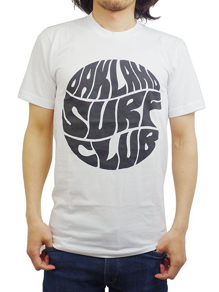OAKLAND SURF CLUB TELEGRAPH TEE WHITE