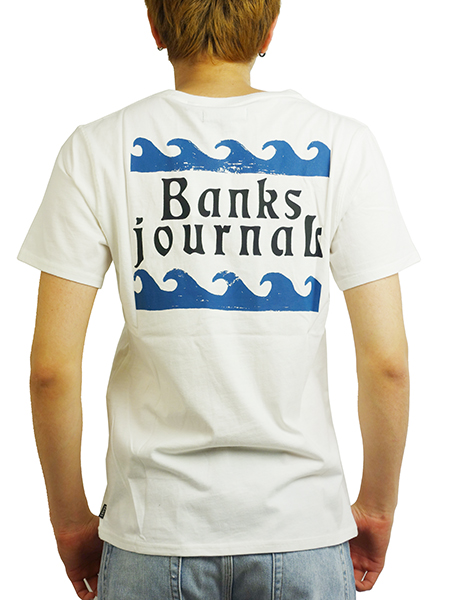 BANKS ATLANTIS TEE SHIRT OFF WHITE