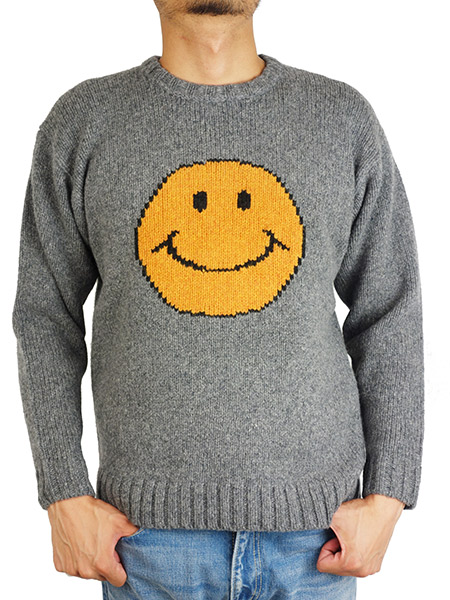 JACKSON MATISSE Smile Sweater GRAY