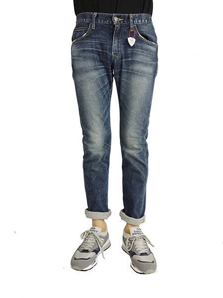 DENIM COATING STRETCH FLAP SLIM TYPE606