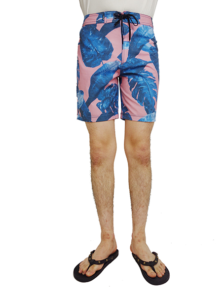 BANKS ISLAND FLAIR BOARDSHORT ROSE