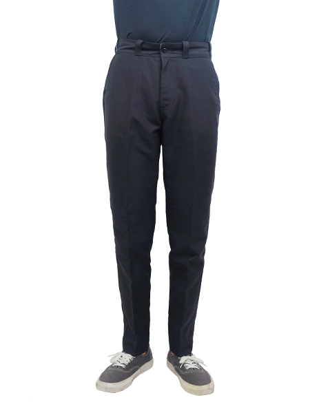 Lee ANKLE CUT PREST PANTS BLACK