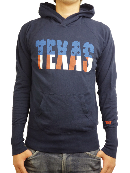 TMT GAZE MINI FRENCH TERRY PULLOVER PARKA(TEXAS) NAVY