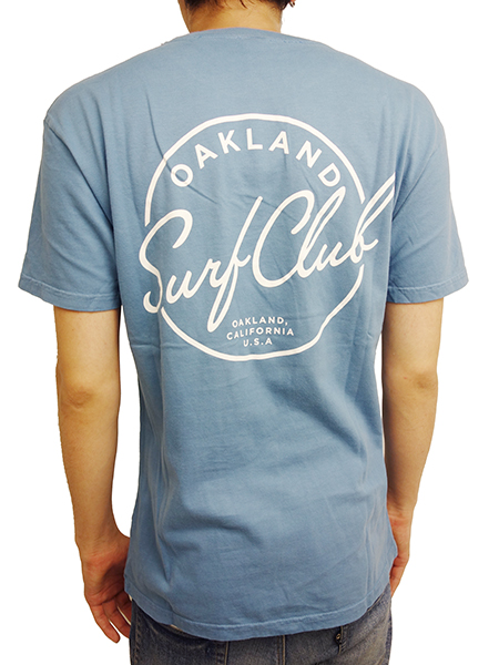 OAKLAND SURF STANDARD TEE SEA BLUE