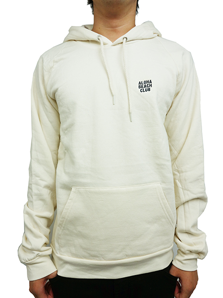 ALOHA BEACH CLUB BREAKERS HOODED SWEATSHIRT SAND