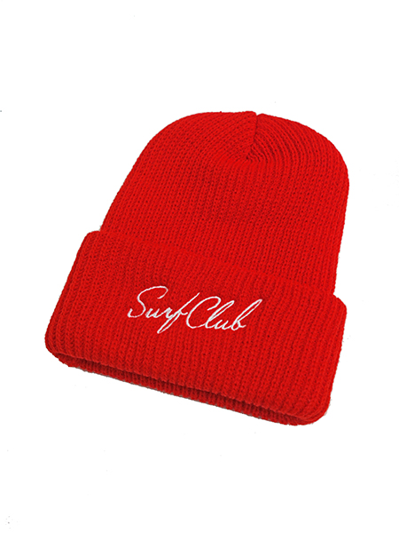 OAKLAND SURF STANDARD BEANIE CHERRY RED