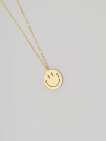 EDF 70'S SMILE NECKLACE (XS) K18
