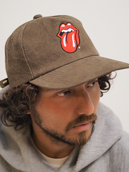 The Rolling Stones×Marbles 5Panel Cap OLIVE 予約