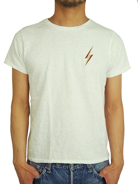 Lightning Bolt BASIC TEE (3C 稲妻 PRINT)