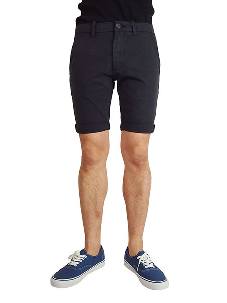 OURS TOWNS SKINNY SHORT PANTS MIDNIGHT
