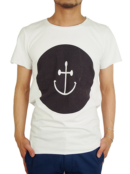 INSTED WE SMILE ANCHOR TEE