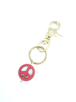 EDF PEACE KEY HOLDER RED