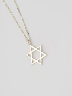 EDF Hexagram Necklace S