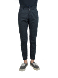 SEVESKIG NYLON EASY PANTS BLACK