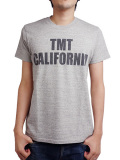 TMT × Blackies 別注 S/SL 19/1 RAFI JERSEY T-SHIRT (TMT CALIFORNIA) TOP GRAY
