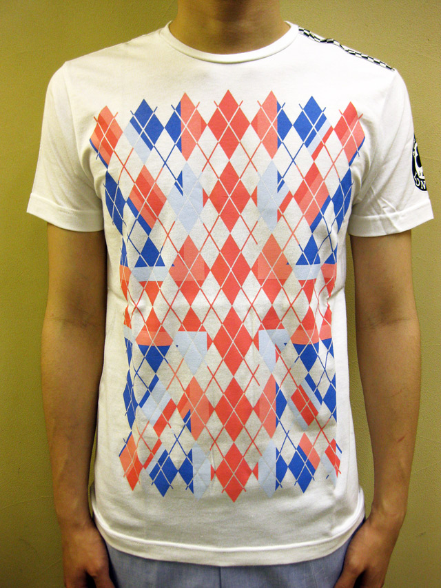 "ACE CAFE ""UNION JACK ARGUILE""Tシャツ"