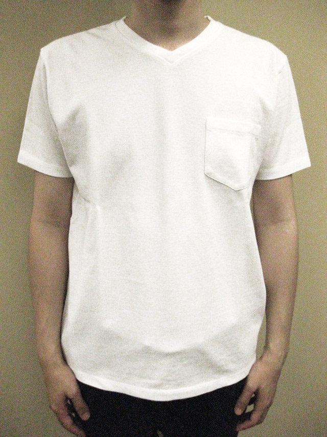 Ambiente Kanoko V-neck S/S Tee with Pocket