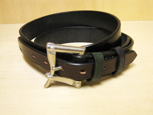 【送料無料】DAINES & HATHAWAY  1.25inch Quick Release Belt Black(Blenheim Multi)