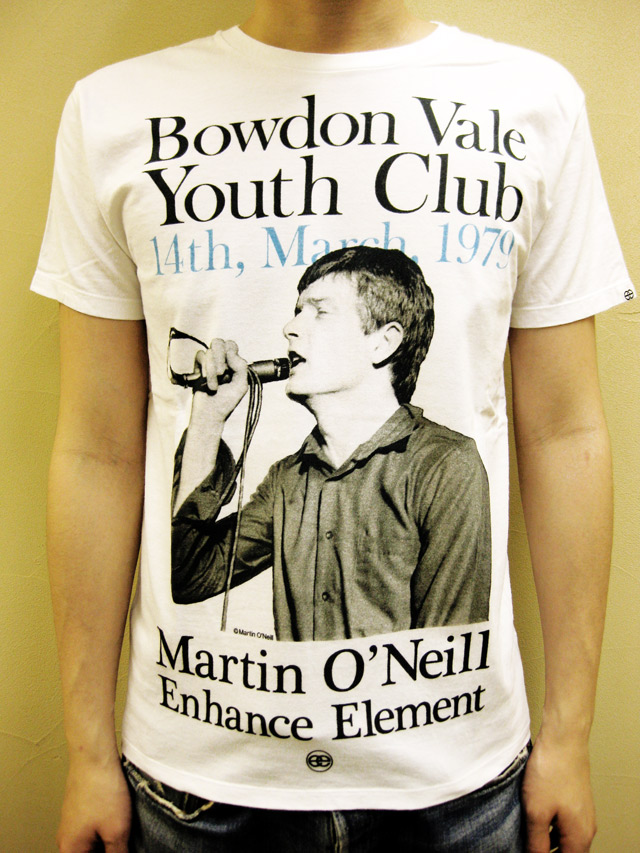 "Enhance Element×Martin O'Neill ""JOY DIVISION"" Tシャツ"