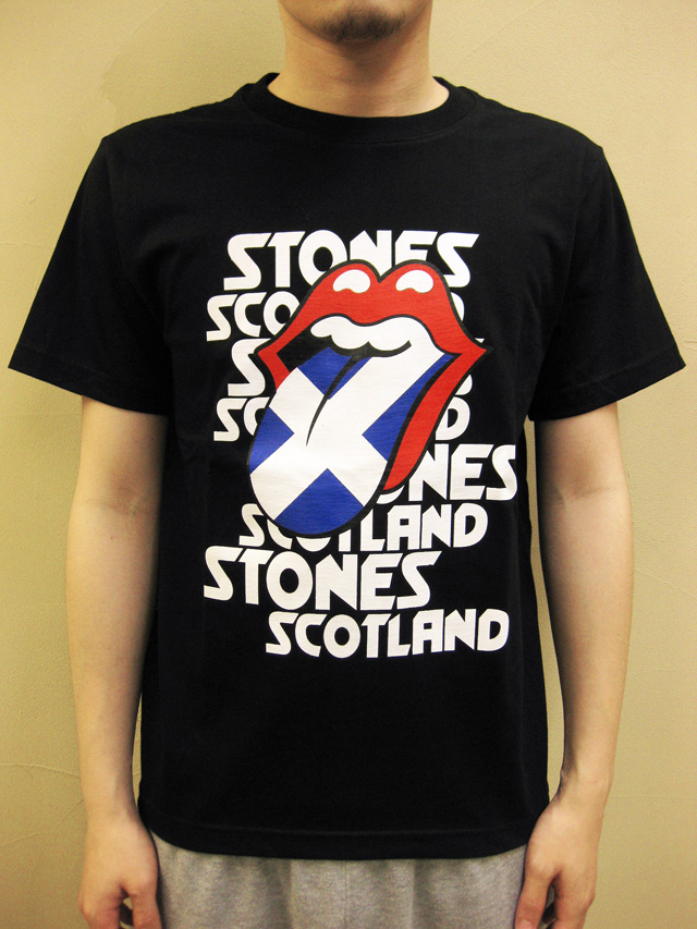 "GTS1976 ""ROLLING STONES IN SCOTLAND"" Tシャツ"