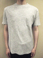 Ambiente Switzer T-Cloth Crew-neck S/S Tee with Pocket