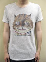 "mix sense  コットン/レーヨン ""Cheshire Cat "" 半袖Tシャツ"