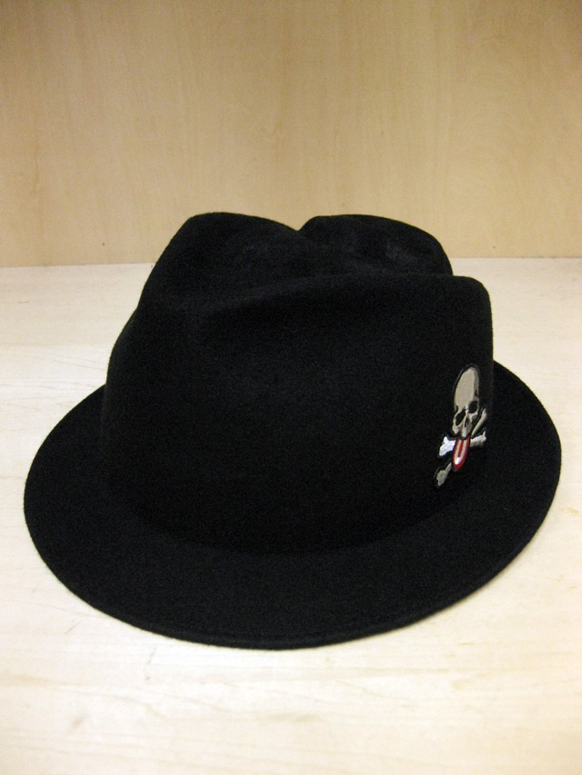 【送料無料】OVER THE STRiPES×mastermind JAPAN Skull Emboss Hat