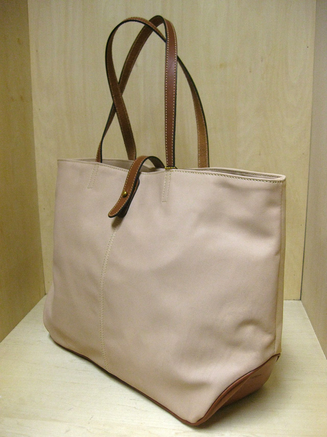 "TUSTING Shoe Leather 2Tone ""Avon"" Tote /ナチュラル&コニャック(Blood & Thunder別注)"